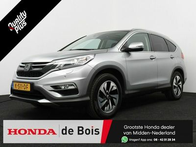tweedehands Honda CR-V 2.0 4WD Executive Aut. | Tot 2 jaar garantie! | Unieke km-stand! | Panoramadak | Ad. cruise | Leer | Navigatie | Camera |