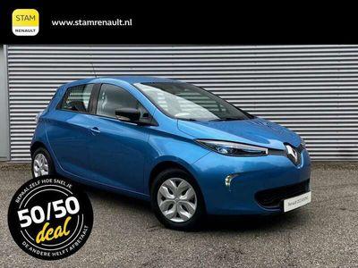 tweedehands Renault Zoe R90 Life ZE40 Batterijhuur, 4% bijtelling 2018 15.330 km Έlectric Optioneel: Stam Top Occasion Garantie
