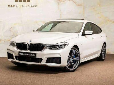 """tweedehands BMW 630 6-Serie Gran Turismo i M Sport 1e.eig. pano softclose HUD 20"""" H/K tr.haak dealeroh NP106k"""