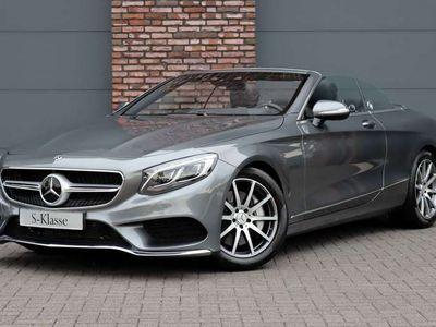 tweedehands Mercedes S560 Cabriolet Premium Plus Aut9, 960 km !!, Luchtverin
