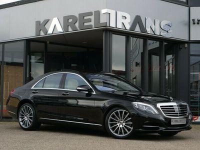tweedehands Mercedes S500 | panoramadak | burmester | night vision | distron