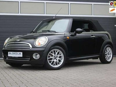 tweedehands Mini Cooper Cabriolet 1.6 Pepper Midnight Black Pdc Airco