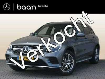 tweedehands Mercedes 220 GLC-KLASSE4-Matic Premium Plus AMG | Airmatic | Burmester | Panoramadak | Rijassistentiepakket | Trekhaak