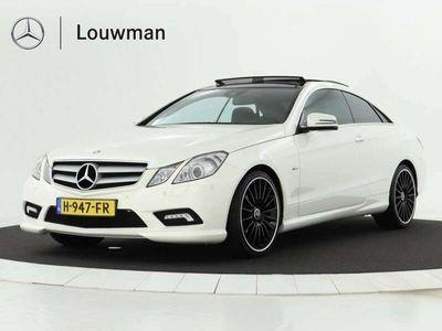tweedehands Mercedes E220 Coupé Diesel AMG Automaat AMG line   Leder   LM ve