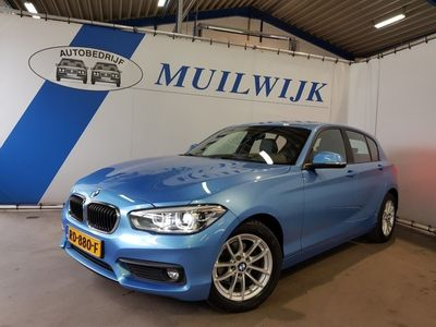 tweedehands BMW 118 1-serie 1-SERIE I CORPORATE LEASE EXECUTIVE /AUT/LED/NAVI/LEDER