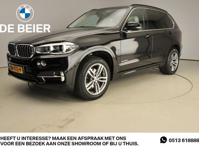 tweedehands BMW X5 XDrive 3.0D Xenon / Leder / HUD / Schuifdak / Trekhaak / Comfortzetels / Chrome line / Hifi speakers / Alu 19 inch