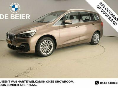 tweedehands BMW 218 2-SERIE Gran Tourer I LED / Leder / HUD / Chrome line / Stoelverwarming / Alu 17 inch