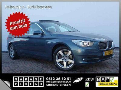 tweedehands BMW 535 5-SERIE Gran Turismo i 306pk Org-NL Pano-dak Έlectric-Trekh Leer+memo