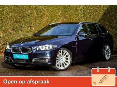 tweedehands BMW 535 5-SERIE Touring xd Luxury Individual ** LEDER, PANO, TREKH, ACC, 20-inch LMV, MASSAGE ** ZEER EXCL - FULL OPTIONS ** ** INFORMEER OOK NAAR ONZE AANTREKKELIJKE FINANCIAL-LEASE TARIEVEN **
