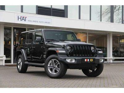 tweedehands Jeep Wrangler Unlimited 2.0T Sahara AUT - Navi