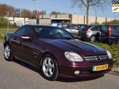 tweedehands Mercedes SLK200 K. Special Edition AUTOMAAT/AIRCO/LEDEREN BEKLEDIN