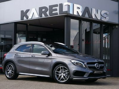 tweedehands Mercedes GLA45 AMG AMG 4Matic | performance zetels | panorama | harman&ka