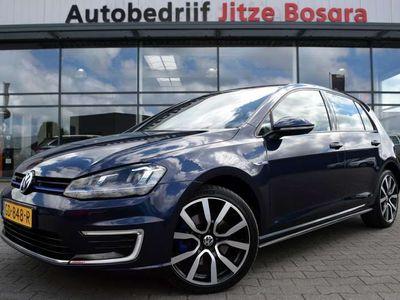 tweedehands VW Golf 1.4 TSi GTE Zwart Leder, LED Koplampen, Sportstoel