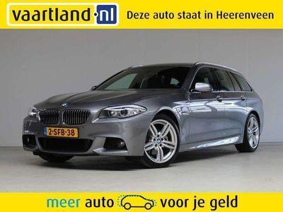 tweedehands BMW 520 5 Serie Touring i M-pakket [ NAP xenon leder prof.navi ]