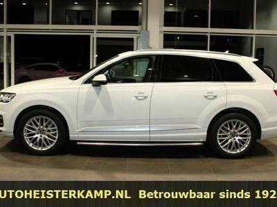 tweedehands Audi Q7 50 TDI quattro 7zitter 286 PK ACC Panoramadak Nachtzicht Treeplanken