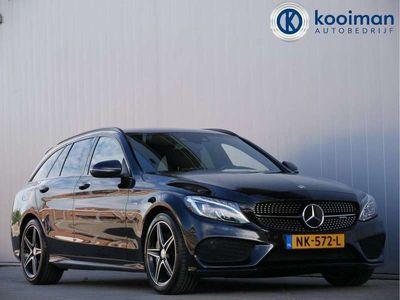 tweedehands Mercedes C450 AMG Estate 368pk AMG 4-MATIC AUTOMAAT Leder / LED-kopl