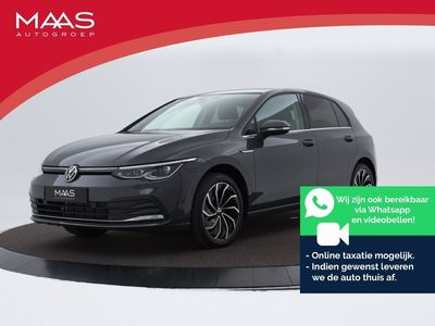 "tweedehands VW Golf 1.5 eTsi 150pk DSG Style | Panoramadak | Camera | Ergo Stoelen | 17"" Velgen | Fabrieks Garantie t/m 30-04-2022"