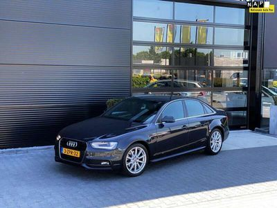 tweedehands Audi A4 1.8 TFSI S, LED, NAVI, LEER, S-LINE, BTW AUTO!!