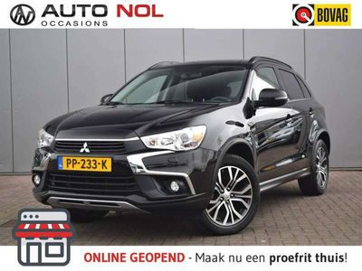 tweedehands Mitsubishi ASX 1.6 Cleartec Connect Pro Navi Xenon Lm18'' Cruise Camera Handgesch Stuurwielbed Lage kilometerstand