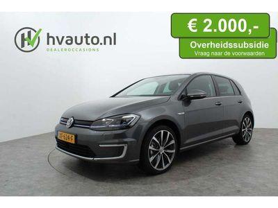 tweedehands VW e-Golf 136PK EXCL. BTW