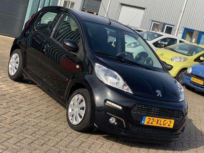 tweedehands Peugeot 107 1.0-12V Active 5drs Pack Premium - Noir Caldera -