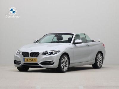 tweedehands BMW 220 2 Serie Cabrio i Luxury Line High Executive