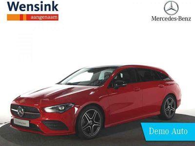 tweedehands Mercedes 200 CLA-Klasse Shooting BrakeAMG Line | Panorama dak | Dodehoek Assistent | Apple carplay | Android Auto |