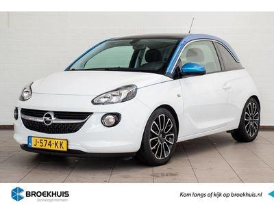 tweedehands Opel Adam 1.2 Glam l ClimateControle l Navi by App l Panoramadak l Parkeersensoren l Lichtsensor l Telefoon!
