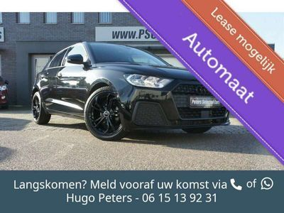 tweedehands Audi A1 Sportback 25 TFSI Automaat Black Edition Cruise/Na