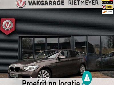 tweedehands BMW 118 1 Serie i High Executive |leder interieur |stoelverwarming |parkeersensoren