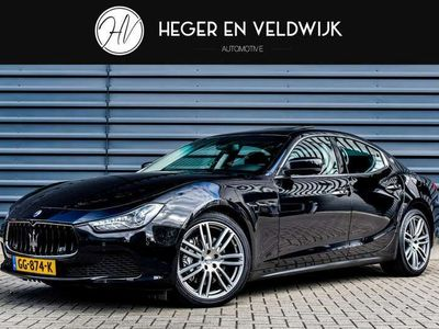 tweedehands Maserati Ghibli 331PK 3.0 | NL-AUTO | PANORAMADAK | XENON-LED | CA