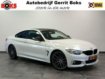 """tweedehands BMW 420 4-SERIE Coupé 420 i M-Sport Leder Navigatie Bi-Xenon Carbon Edition 20""""LM 184PK!"""
