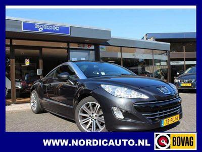 tweedehands Peugeot RCZ 1.6 THP 156 PK MET ZWART LEDER NL AUTO ZEER MOOI !