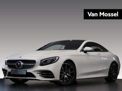tweedehands Mercedes S560 Coupé 469pk 4MATIC 9G TRONIC AMG Line plus Standka