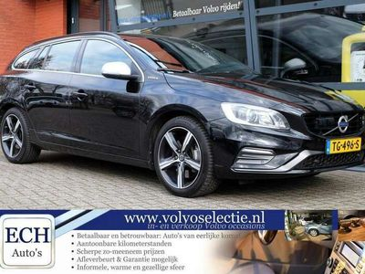 tweedehands Volvo V60 D5 Twin Engine R-Design Polestar, Leer, Xenon, 18