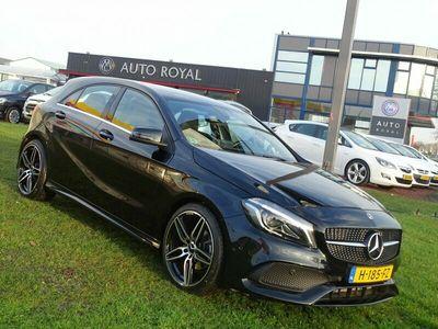 tweedehands Mercedes A180 Business Solution AMG - 6-Bak, Full Led koplampen, Achter Uit Rij Camera, Leder interieur, 19 inch AMG velgen ,Stoelverwarming, Key Less/Go, Parkeersensoren, Parkeer assistent