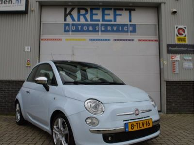 tweedehands Fiat 500 1.2 Lounge Panoramadak, Airco.