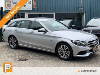 tweedehands Mercedes C350 Estate e Lease Edition INCL. BTW/GARANTIE/NAVI/CAM