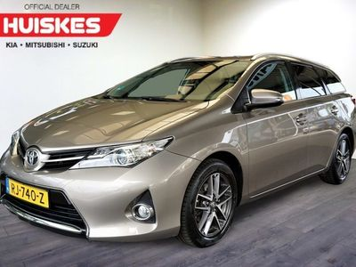tweedehands Toyota Auris Touring Sports 1.6 Aspiration Navi, Cruise control, Trekhaak, 16 inch LM