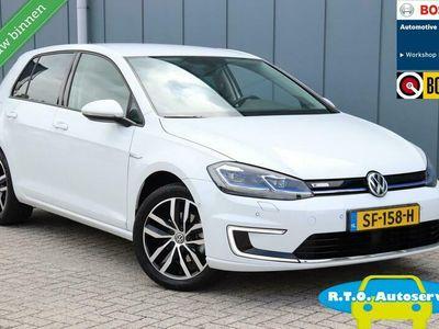 tweedehands VW Golf e-Golf NIEUWSTAAT