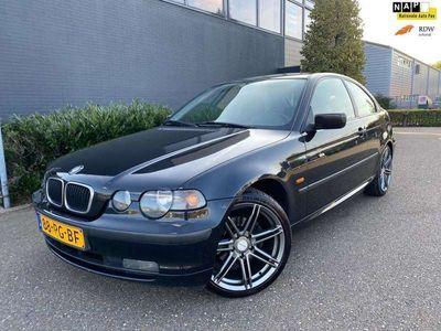 tweedehands BMW 318 Compact 318td Black&Silver/NAVI/PDC/AIRCO/CRUISE/2