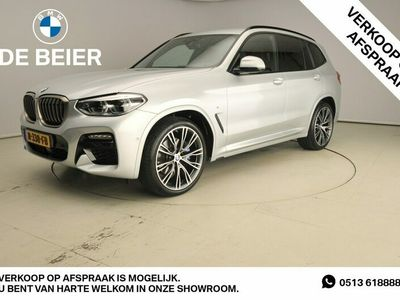 tweedehands BMW X3 XDrive 3.0D M-Sportpakket / LED / Leder / HUD / Trekhaak / Elektr. zetels / Sportstoelen / DAB / Hifi speakers / Alu 21 inch