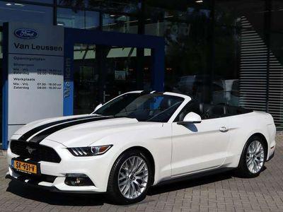 tweedehands Ford Mustang Cabrio 2.3 317PK AUTOMAAT CABRIO SPORTUITLAAT