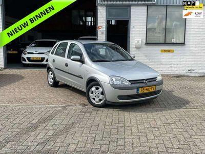 tweedehands Opel Corsa 1.2-16V Comfort El.raam/ Stuurbekr./ GOED LEZEN
