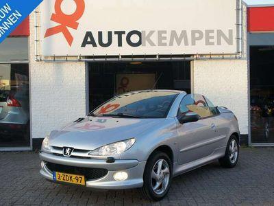 tweedehands Peugeot 206 CC 1.6-16V GOEDKOOP CABRIOWEN DEZE CORONAZOMER!