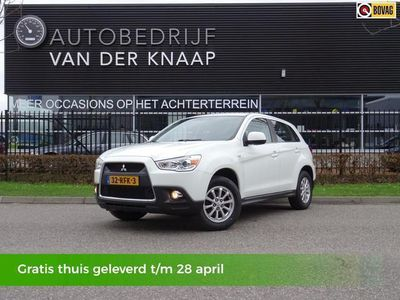 tweedehands Mitsubishi ASX 1.6 Intro Edition ClearTec   Clima   Cruise   PDC
