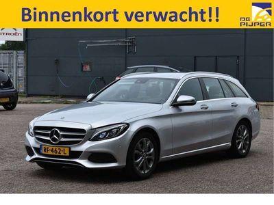 tweedehands Mercedes C200 Estate Premium Plus NL-AUTO, 1STE EIGENAAR, NAVI,