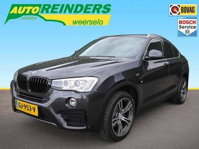 tweedehands BMW X4 xDrive20i 184pk High Executive Automaat + Leer/Nav