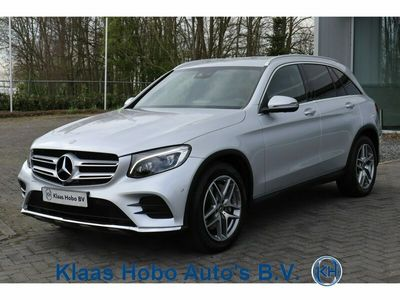 tweedehands Mercedes 220 GLC-KLASSEd 4MATIC AMG Airco, 360° camera, Cruisecontrol, Navigatie, Stoelverwarming