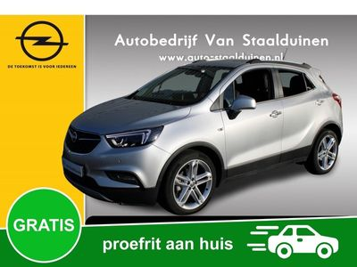 tweedehands Opel Mokka X 1.4 Turbo Innovation Navigatie, Open dak, 19 inch velgen, LED Lampen, Camera, FULL OPTIONS